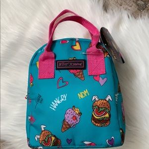 Betsey Johnson hangry insulated lunch tote